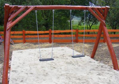 Hintaállvány 2 db lapülővel homok ütéscsillapítás_1