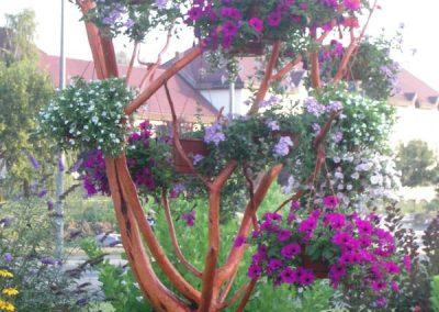 Virágtartó ágas-bogas