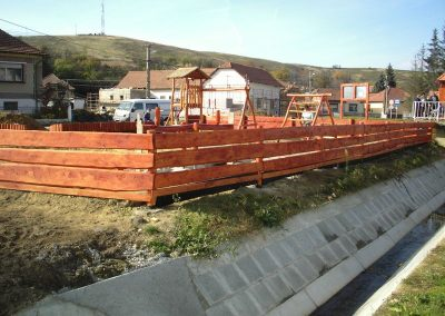 Western típusú kerítés