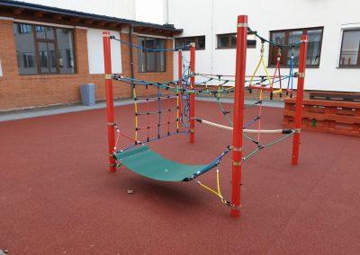 kötél mászókombináció mozgás korlátozott gyerekek részére, játszótér
