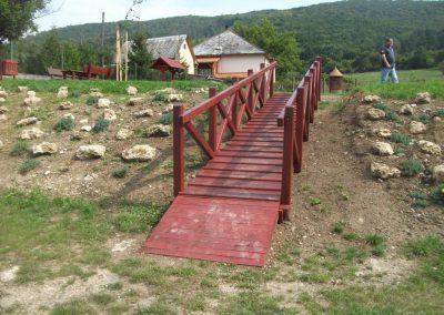tölgy híd, feljáróval