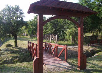 tölgy híd, kapu