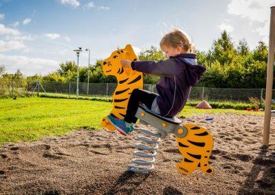 Tigris rugós játék EX010 HDPE műanyag